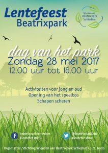 Beatrixpark Lentefeest 2017